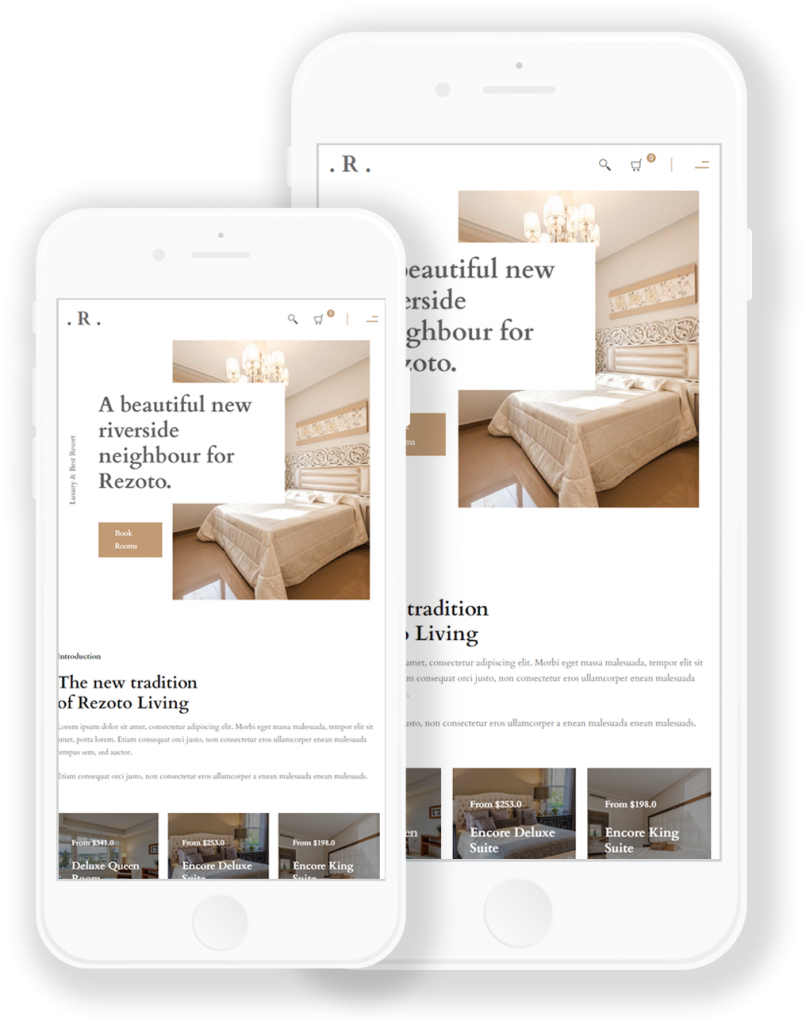 Rezoto - Premium Hotel WordPress Theme